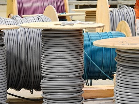 Lines, Cable, Cable Drum, Current